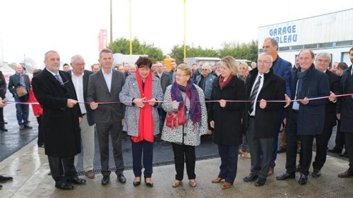 une station service biomethane grand public inauguree locmine